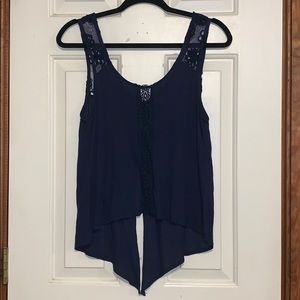 Rue21 Split Back Lace Top